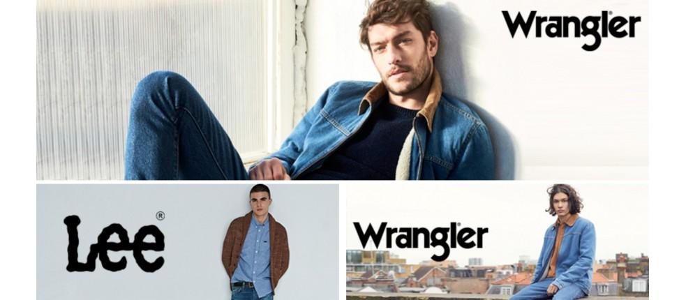 Męska odzież, ubrania: Lee, Wrangler, Vans