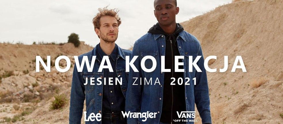 Nowości – Lee, Wrangler, Vans