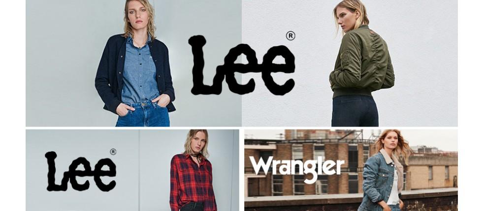 Damska odzież, ubrania: Lee, Wrangler, Vans