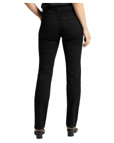 Jeansy Lee Marion Straight L301 Black Rinse