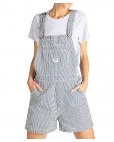 Lee BIB SHORT L30A Hickory Stripe