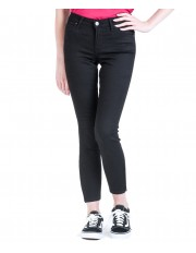 Lee Scarlett Cropped L30C Black Rinse