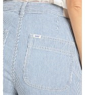 Lee Wilde Leg Patch Pocket L30Y Hickory Stripe