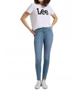 Lee Scarlett High Zip L31B Light Lou