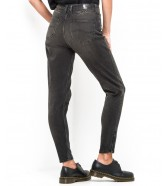 Lee Mom Cropped Zip L32J Punk Deluxe