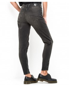 Lee Jeans Mom Cropped Zip L32J Punk Deluxe