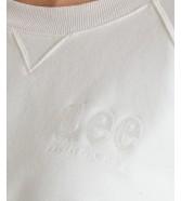 Bluza Lee VINTAGE CROPPED SWS L36E White Canvas