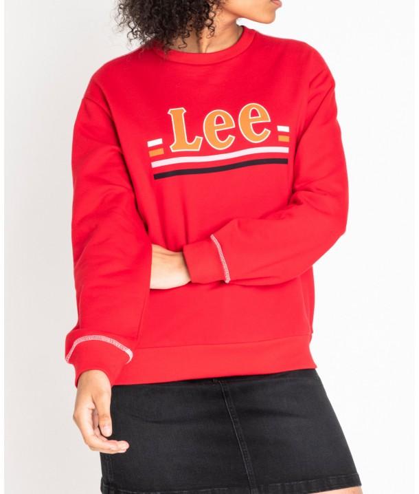 Lee LOGO SWS L36G Warp Red L36GTXKG