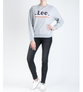 Lee LOGO SWS L36G Grey Mele