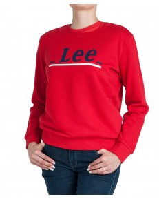 Lee CREW LOGO LINES L36J Bright Red