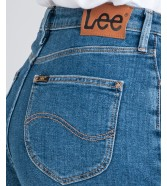 Lee MOM SHORT L37M Mid Stonewash