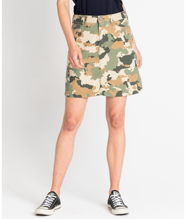 Lee SEASONAL SKIRT L38A Camouflage L38ACW03