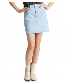 Lee A LINE ZIP SKIRT L38F Bleached Ore