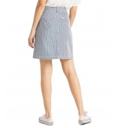 Lee A LINE SKIRT L38N Hickory Stripe