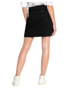 Lee A LINE SKIRT L38N Moto Black