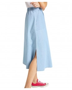 Lee CHAMBRAY SKIRT L38Z Summer Blue