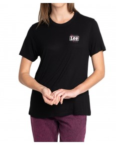 T-shirt Lee RELAXED FIT TEE L40C Black