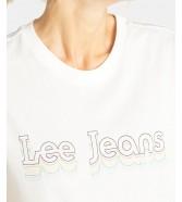 Lee PRIDE TEE L40G White Canvas