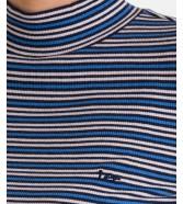 Golf Lee LS RIBBED TEE L40H Blue Yonder