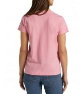 T-shirt Lee PALM TREE V-NECK TEE L40M La Pink