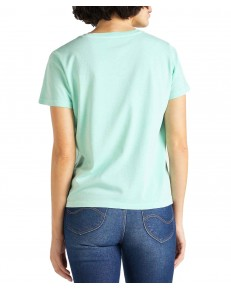 Lee GARMENT DYED TEE L40R Summer Mint