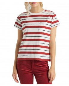 Lee RELAXED POCKET TEE L40R Red Orche
