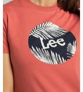 Lee CIRCLE TEE L40T Paprika