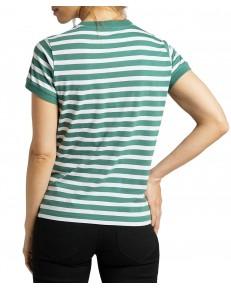 T-shirt Lee STRIPE TEE L40X Evergreen