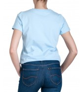 Lee GRAPHIC TEE L41A Sky Blue