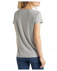 T-shirt Lee V NECK TEE L41J Grey Mele