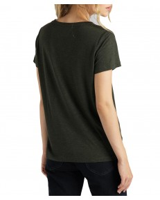Lee V NECK TEE L41J Serpico Green