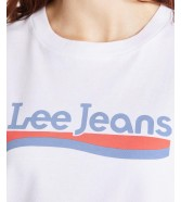 Lee CREW NECK TEE L41L Bright White