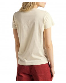 Lee CREW NECK TEE L41L Bleached Sand
