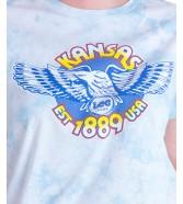 T-shirt Lee TIE DYE TEE L41R Sky Blue