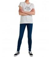 T-shirt Lee GRAPHIC TEE L41U White Canvas