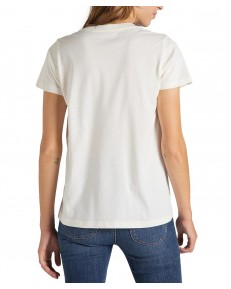 T-shirt Lee JEANS LOGO TEE L42F Off White