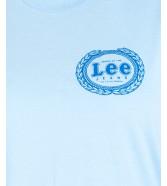 Lee EMBLEM TEE L42G Sky Blue