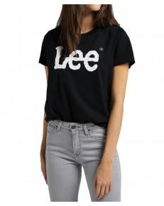 Lee LOGO TEE L43U Black