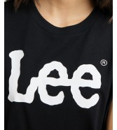 T-shirt Lee LOGO TEE L43U Black