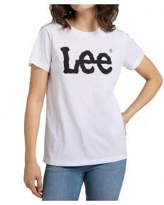 Lee LOGO TEE L43U White