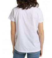 T-shirt Lee LOGO TEE L43U White