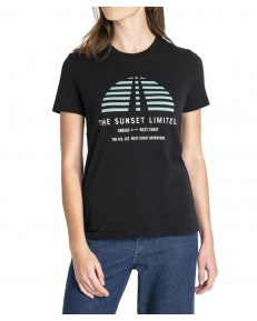 Lee SUNSET TEE L42X Black