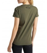 Lee STENCIL GRAPHIC TEE L43G Olive Green