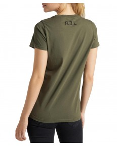 T-shirt Lee STENCIL GRAPHIC TEE L43G Olive Green