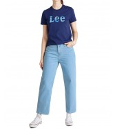 Lee SLIM LOGO TEE L43K Blueprint