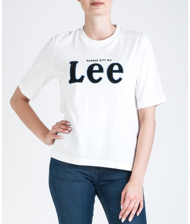 Lee TEE L43R Off White L43RAIMK