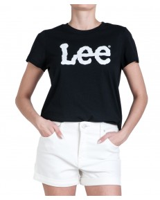 Lee LOGO TEE L43V Black