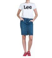 Lee LOGO TEE L43V White