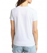 T-shirt Lee PRIDE TEE GRAPHIC L43X White
