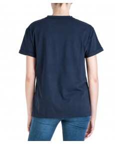 Lee CHEST LOGO TEE L43Z Midnight Navy